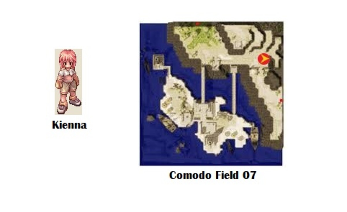 Kienna; Comodo Field 07