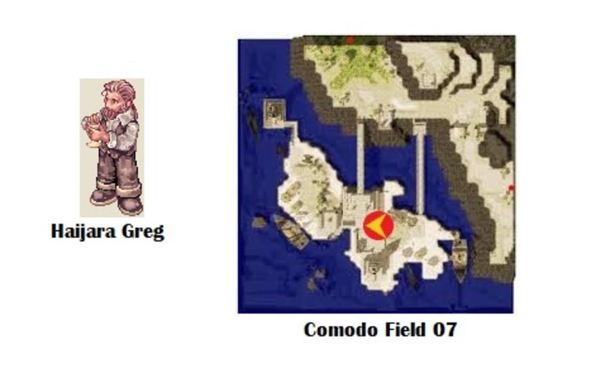 Haijara Greg; Comodo Field 07