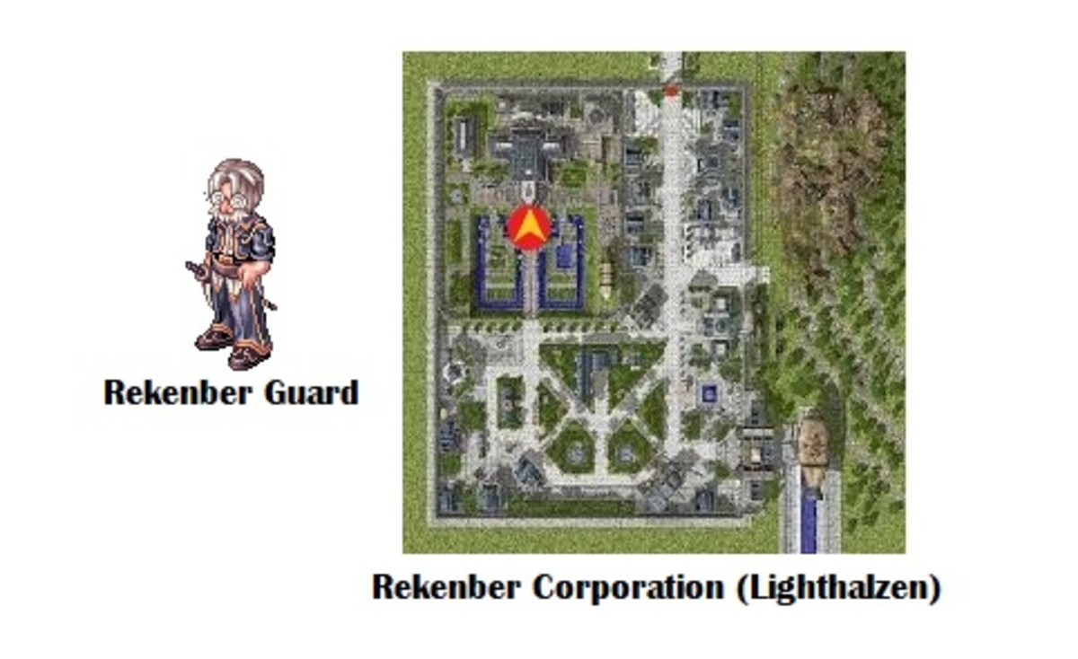 You'll start the quest by talking to the Rekenber Guard.