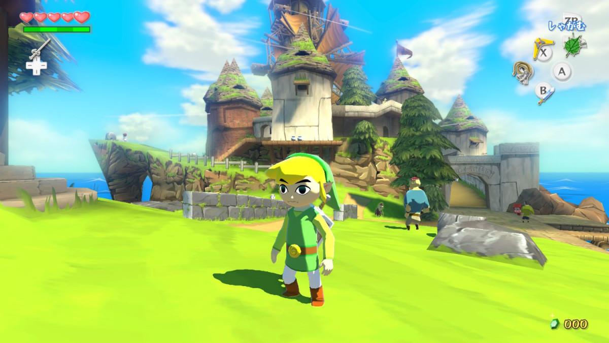 Link at Windfall Island