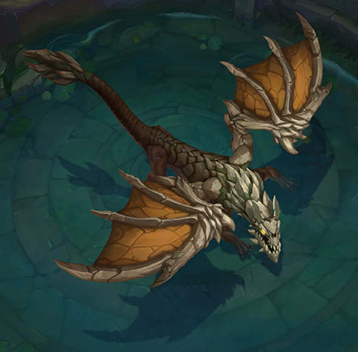 Mountain Drake: Bonus damage to turrets and epic monsters