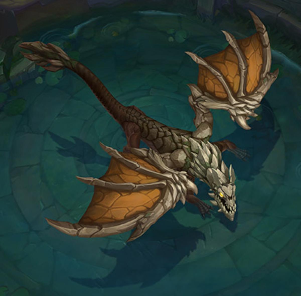 Mountain Drake: Bonus damage to turrets and epic monsters