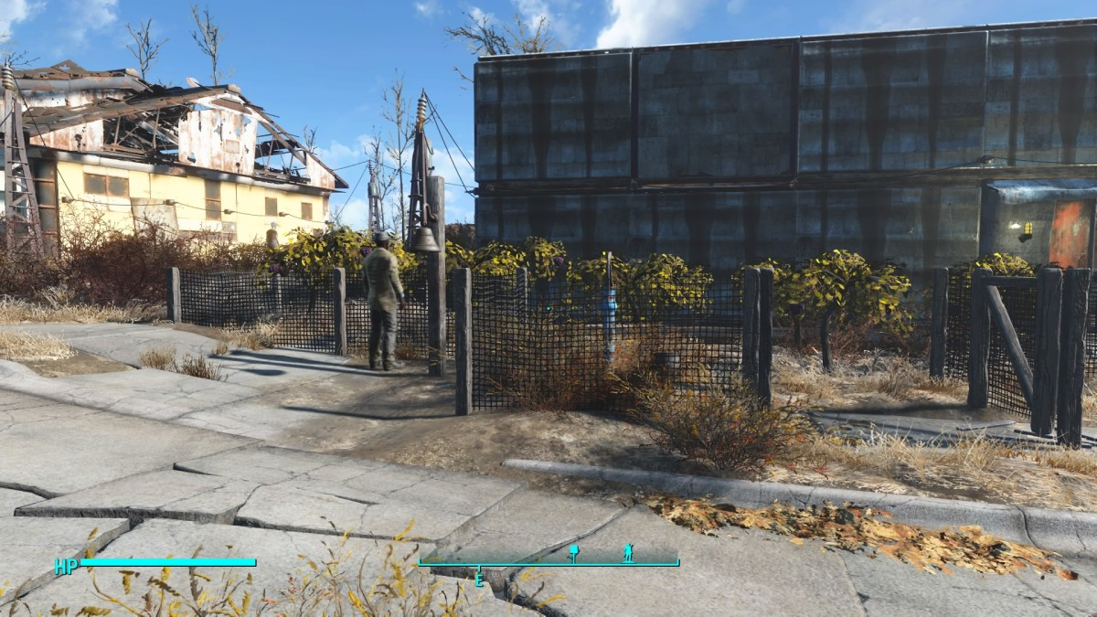 Settlements have to have food and that starts in the garden.