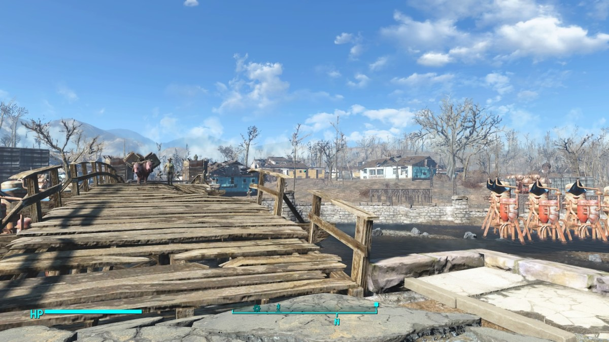 Sanctuary is home and your first settlement waiting to be built.