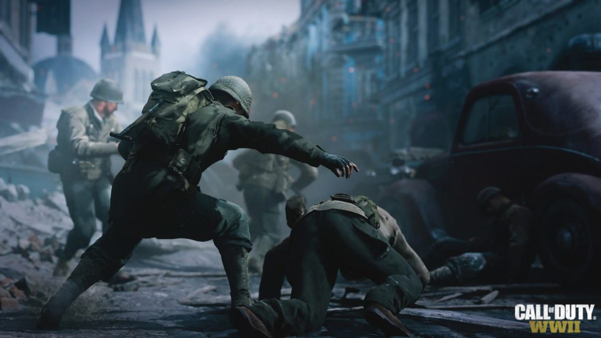 "The new ""heroic acts"" feature encourages you to act on the camaraderie that the characters build and perform acts such as dragging wounded soldiers to safety or accepting the surrender of your enemies."