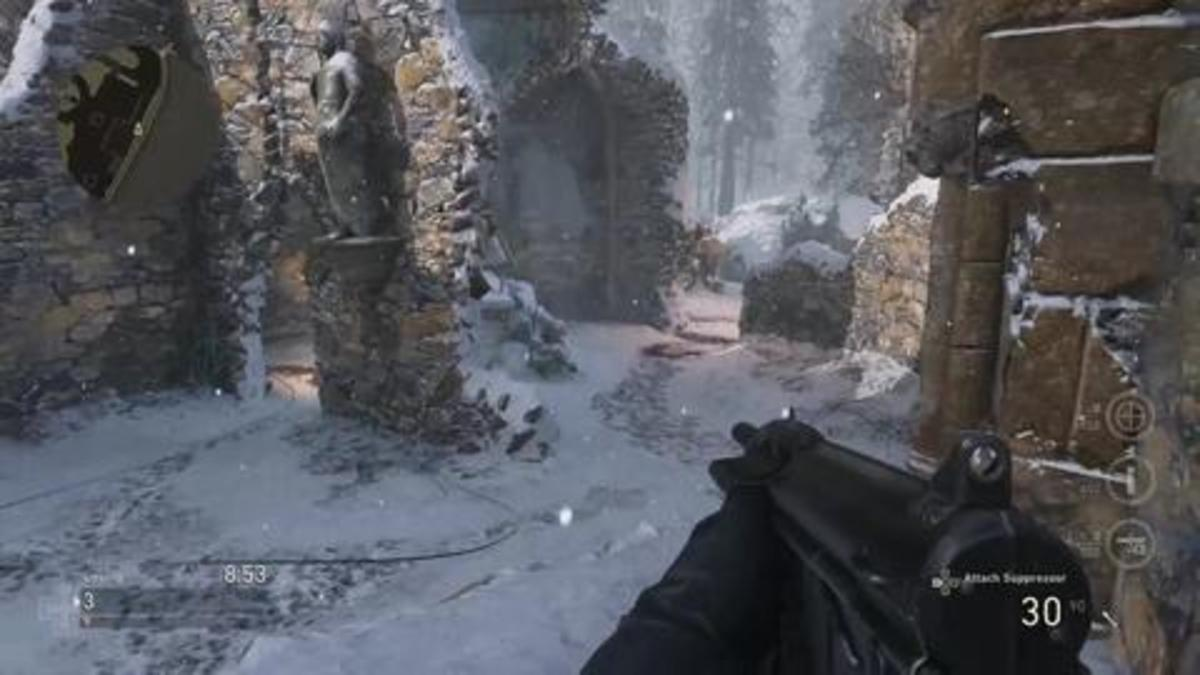 Tight corners makes SMGs the go to gun causing the tactical theme to start to return to the old run and gun of  recent Call of Duty titles.