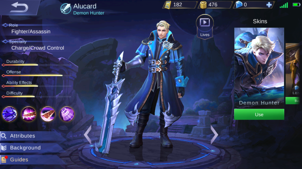 Alucard is the Demon Hunter