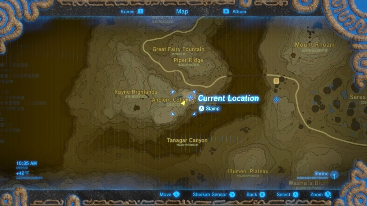How To Find All Captured Memory Locations In The Legend Of Zelda