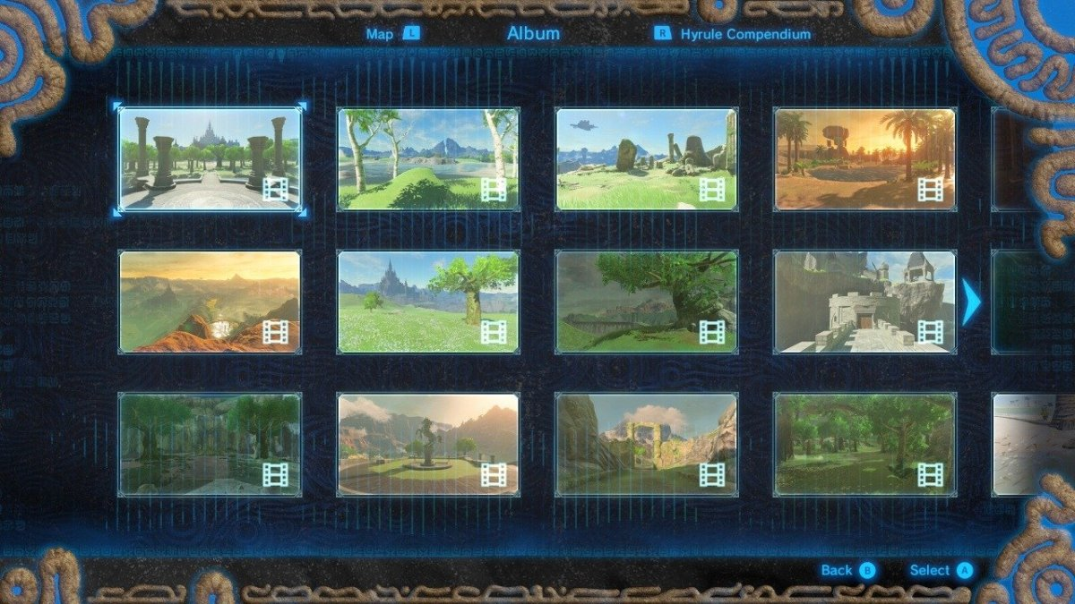 How to Find All Captured Memory Locations in The Legend of Zelda: Breath of the Wild