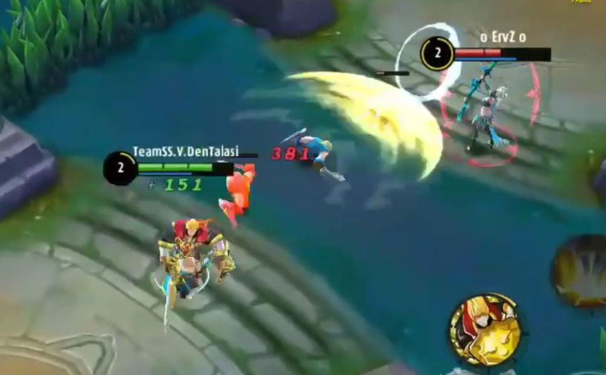 Tigreal Unleashing an Attack Wave