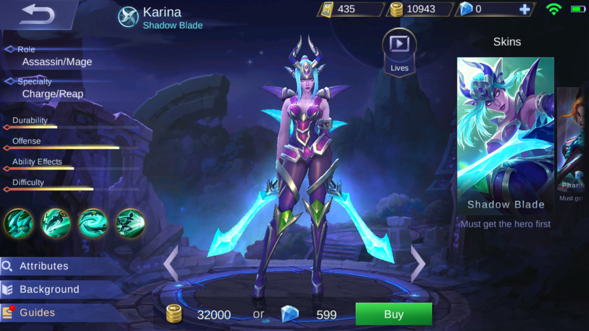 Karina Is the Shadow Blade
