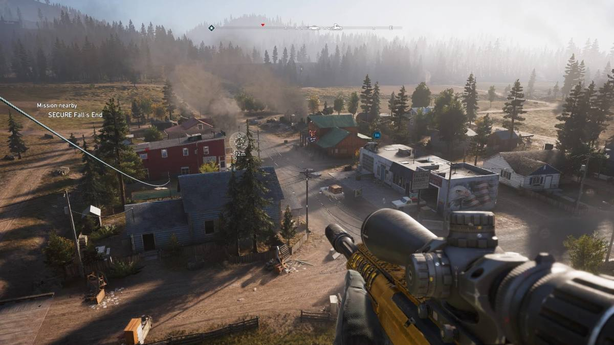 "Shooting in ""Far Cry 5"""