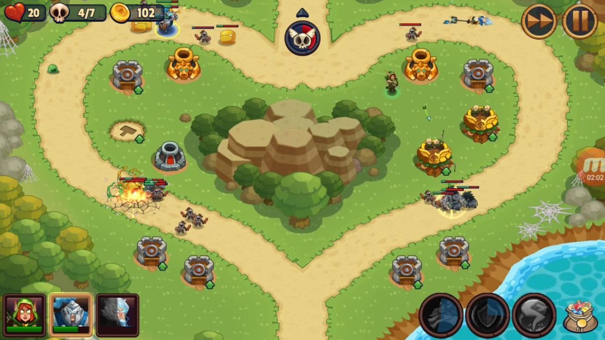A Level from World 1 (Pridefall Kingdom)