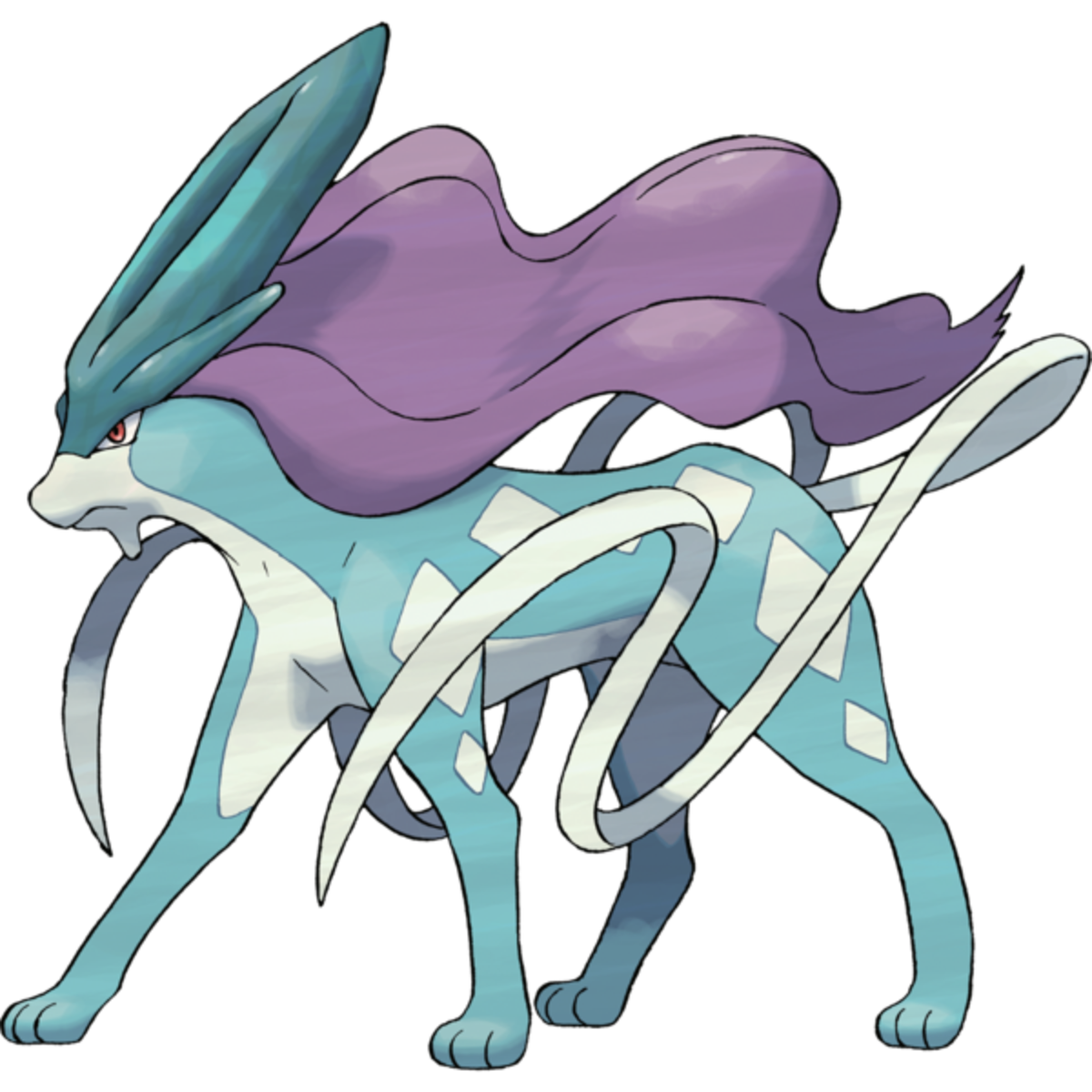 Suicune (Entei and Raikou Required)