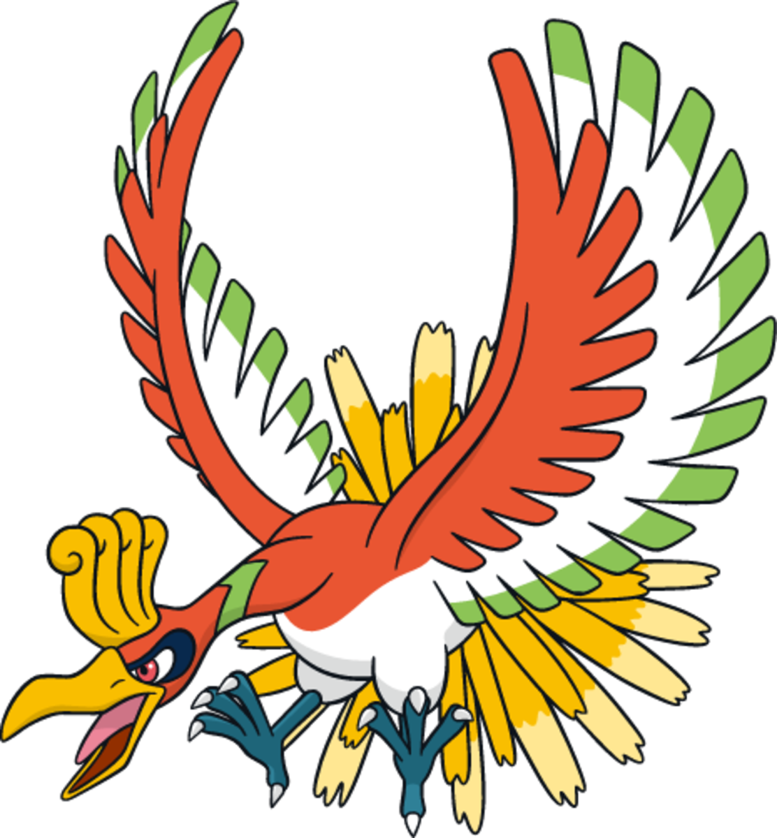 "Ho-Oh (""Ultra Sun"" Exclusive)"