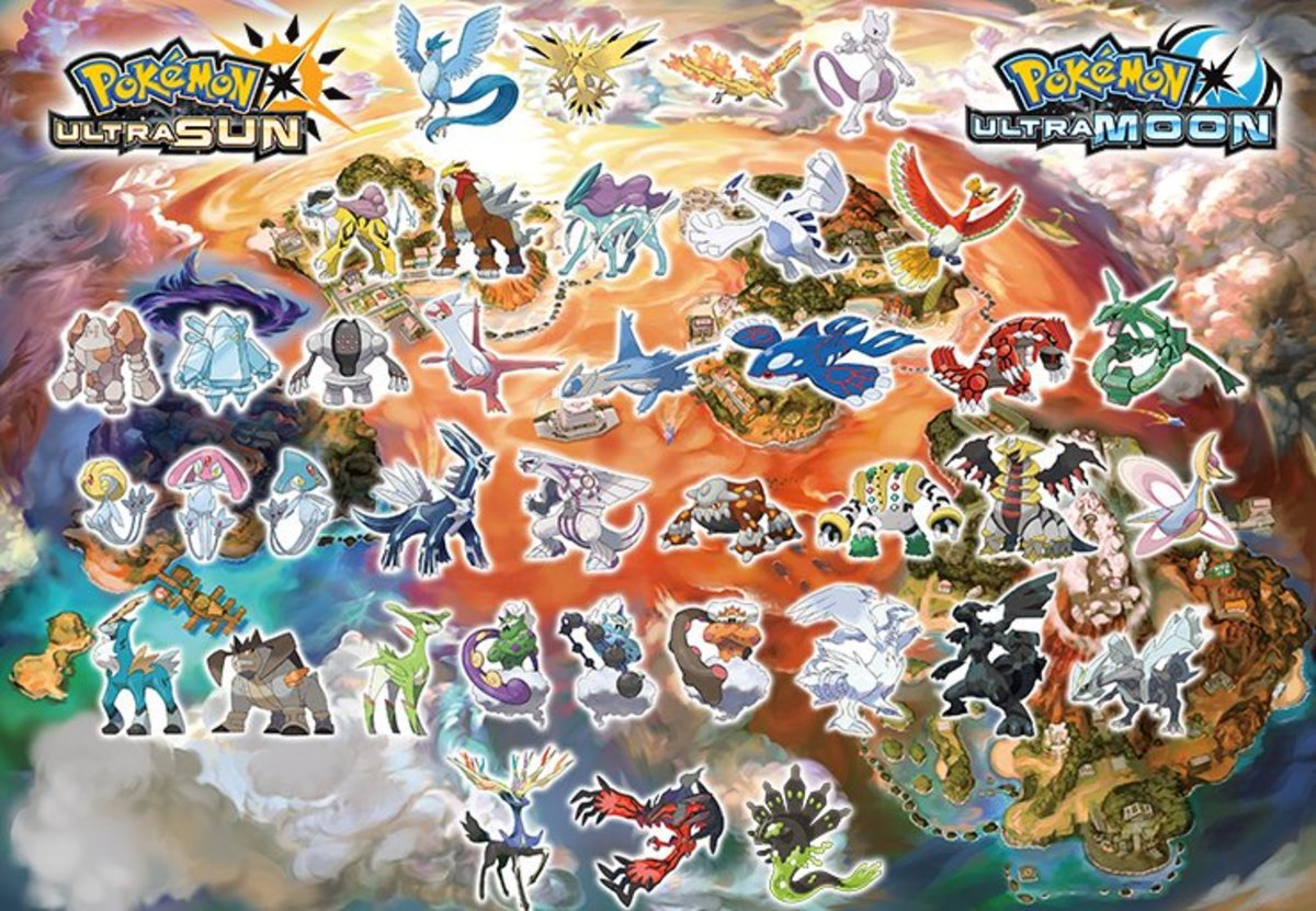Pokemon Ultra Sun and Ultra Moon: Legendary Pokemon Locations Guide