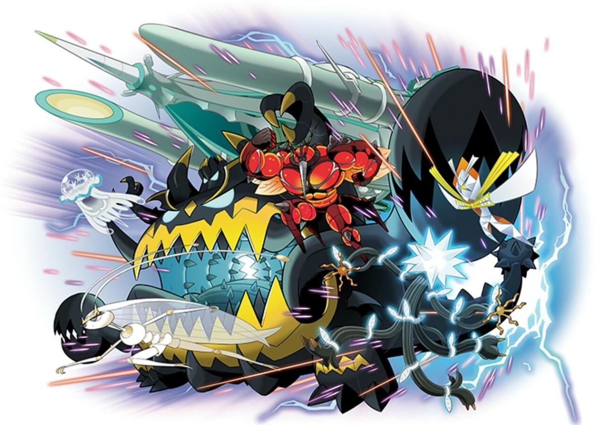 """Pokémon USUM"": All Ultra Beast Locations"
