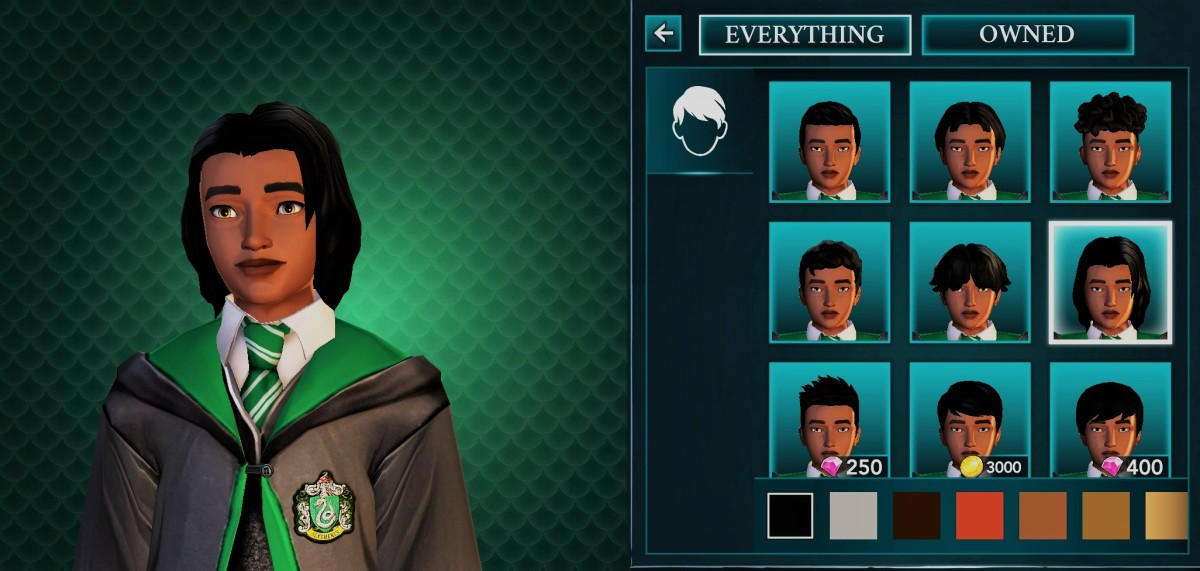 """Altered screenshot from """"Harry Potter: Hogwarts Mystery"""""""