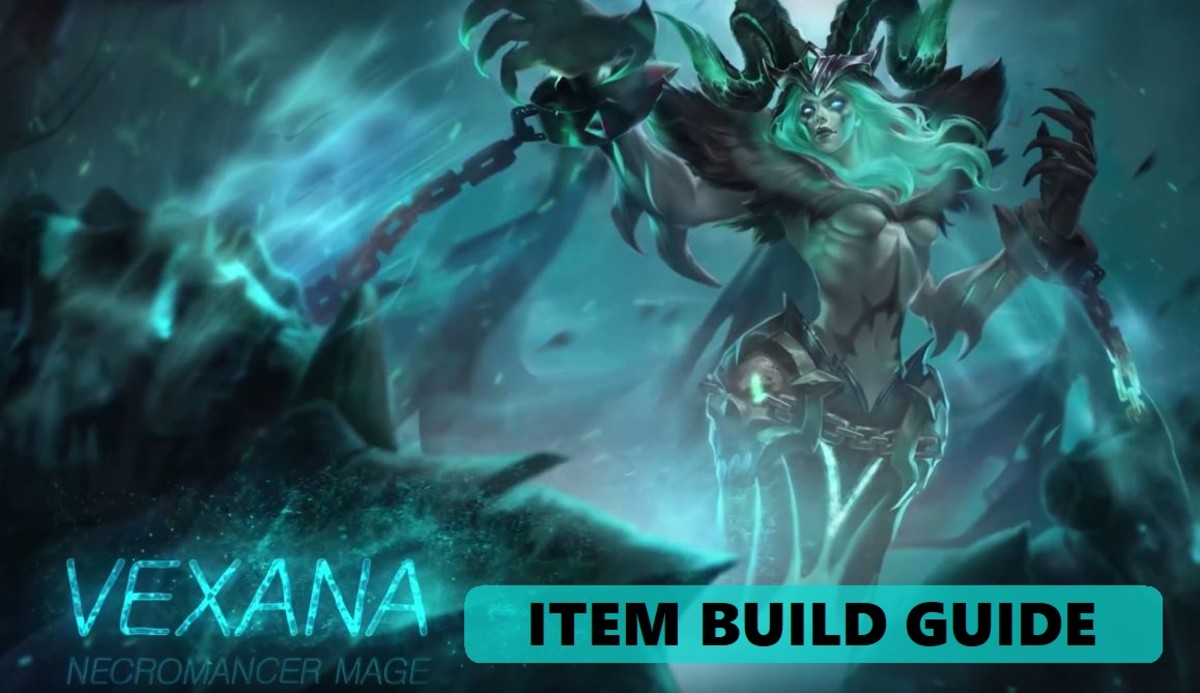 Mobile Legends Vexana Item Build Guide