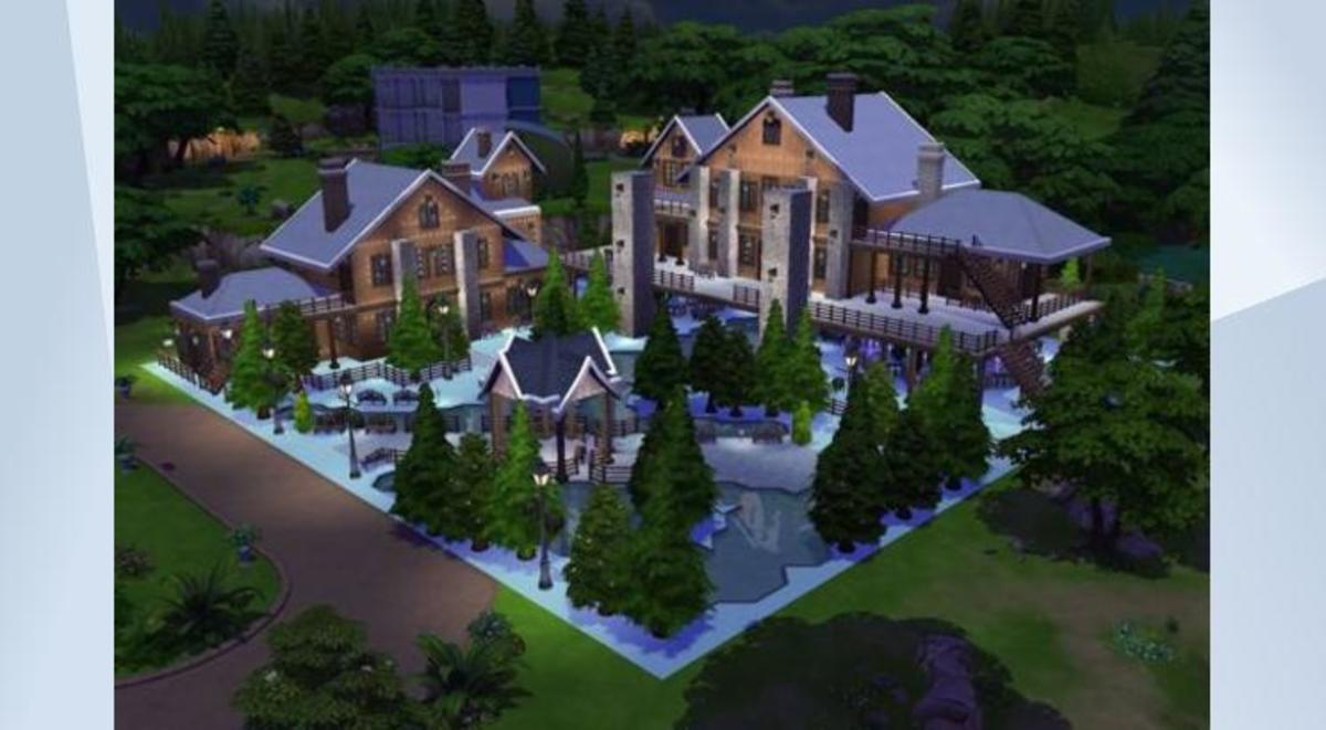 Floor Elevation Cheat Sims 4 : Image result for egyptian modern mansions building plans