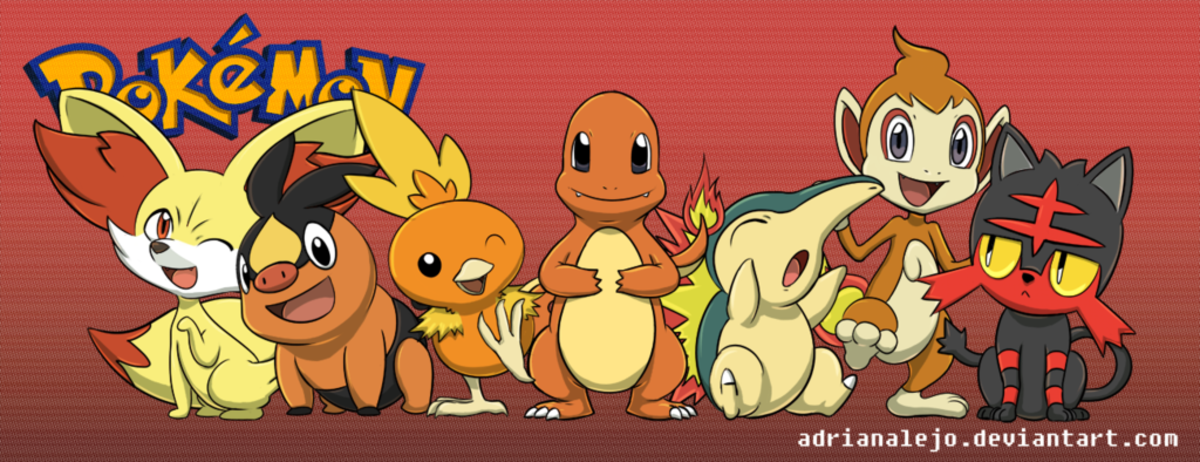Pokemon- Top 3 Fire Type Starters