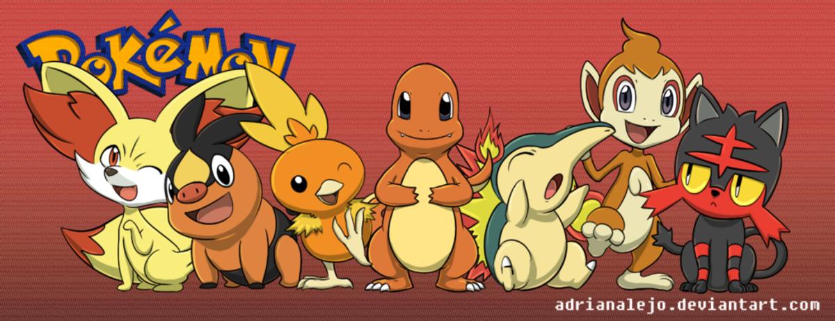 pokemon top 3 fire type starters levelskip