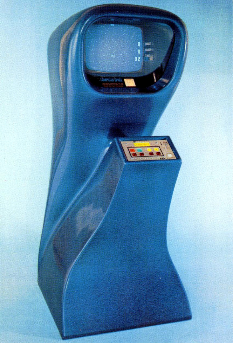 Computer Space (1971), the first arcade game.