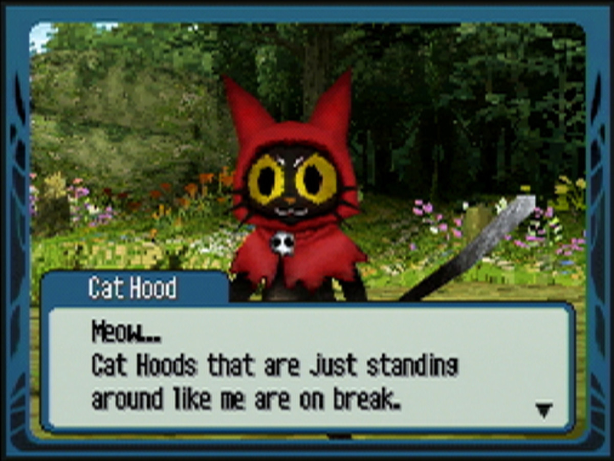 A screenshot showing the Cat Hood enemy from The Wizard of Oz: Beyond the Yellow Brick Road.