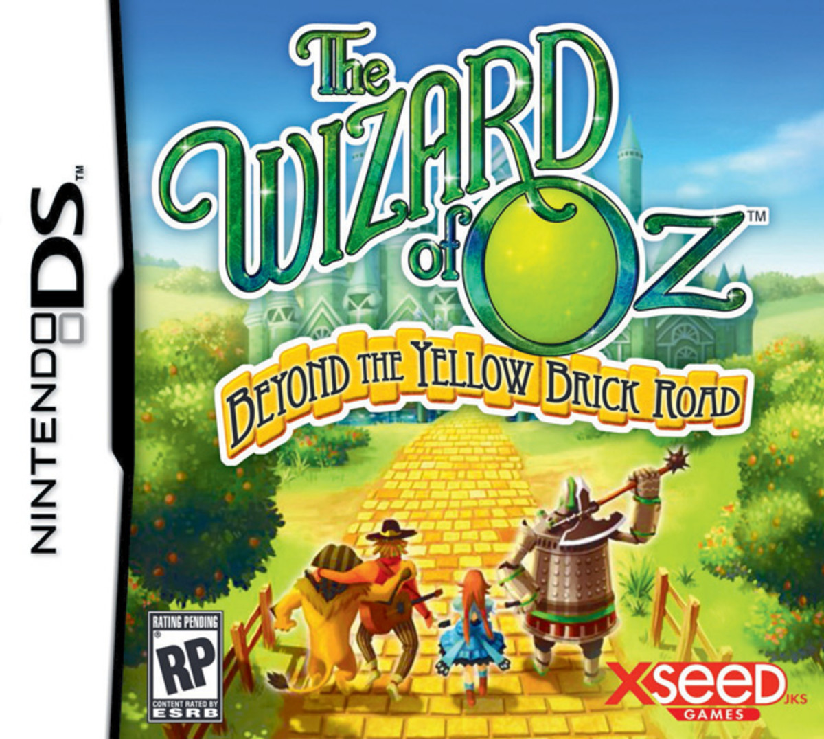 """The Wizard of Oz: Beyond the Yellow Brick Road"" box art"