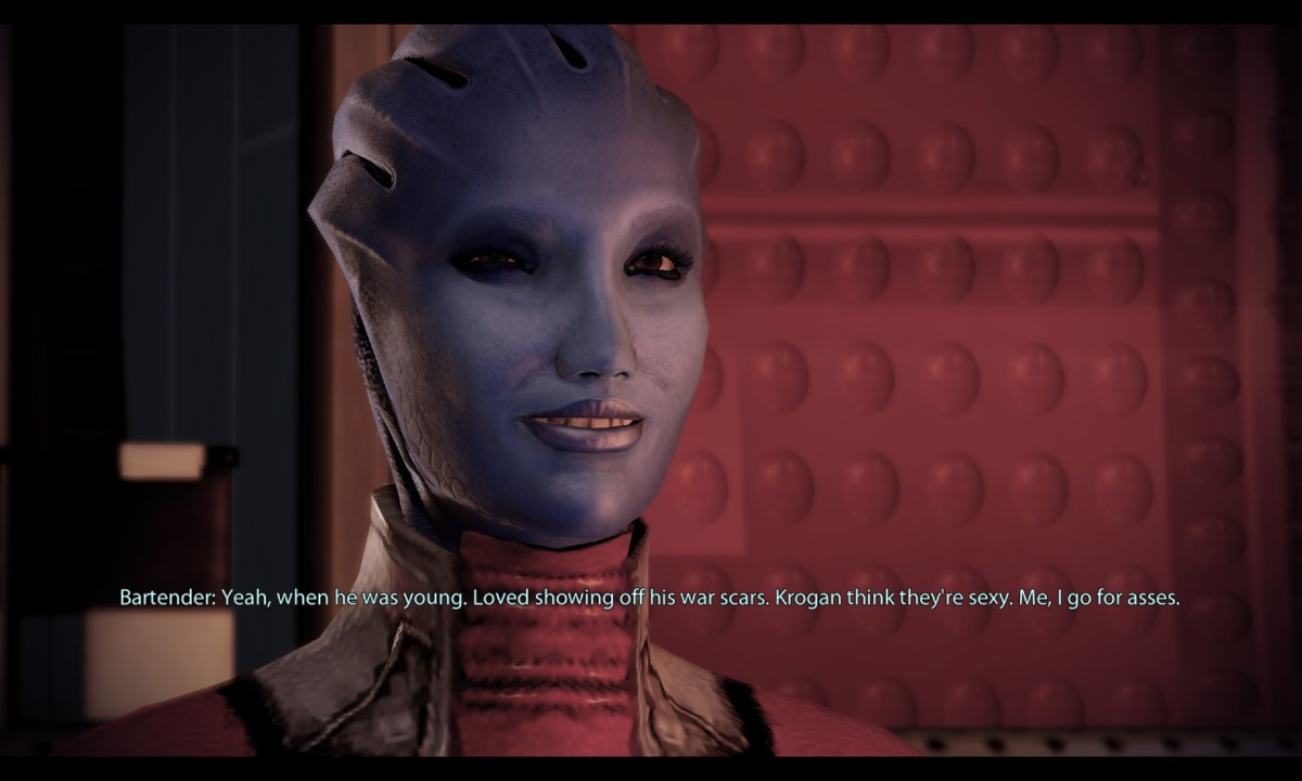 Mass Effect: Aethyta Is Shepard If Shepard Was an Asari