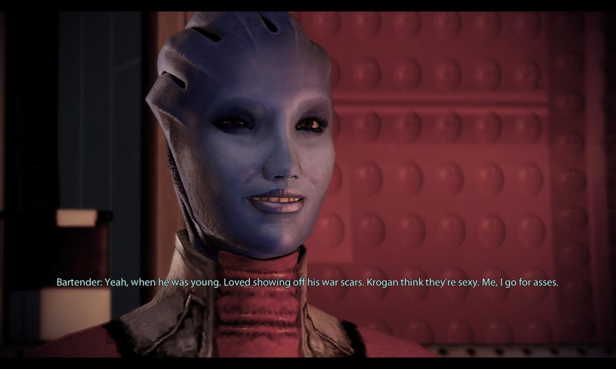 Mass Effect: Aethyta Is Shepard If Shepard Was an Asari