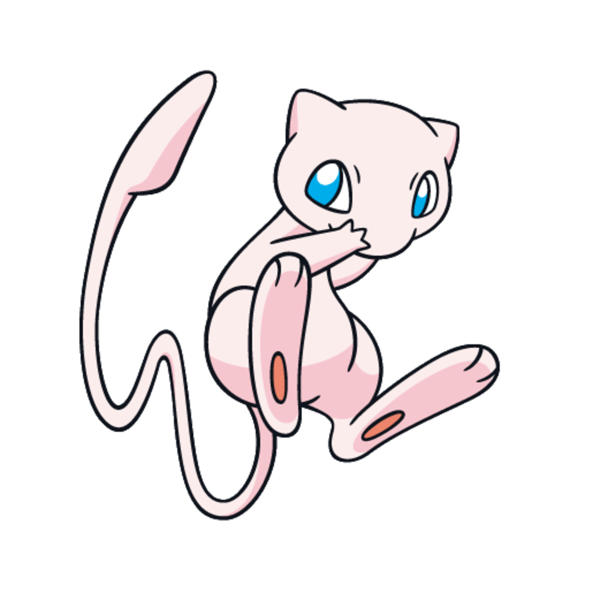 Mew, doing an evil cackle as it thinks of how difficult and time-consuming its quest is.