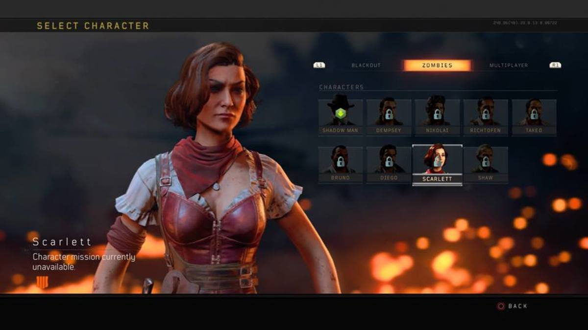 """""""Call of Duty: Black Ops 4"""" character selection"""
