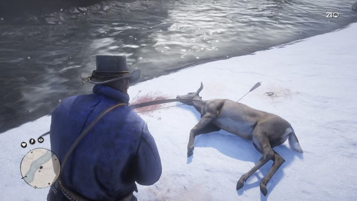 Whitetail deer in Red Dead Redemption 2