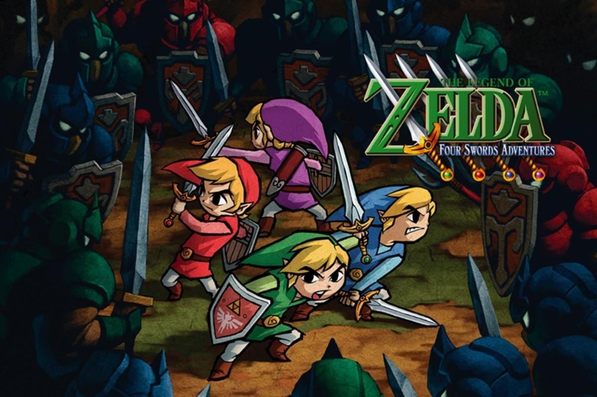 """""""The Legend of Zelda: Four Swords Adventures"""""""