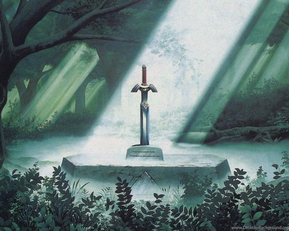 """The Master Sword in """"A Link to the Past"""""""