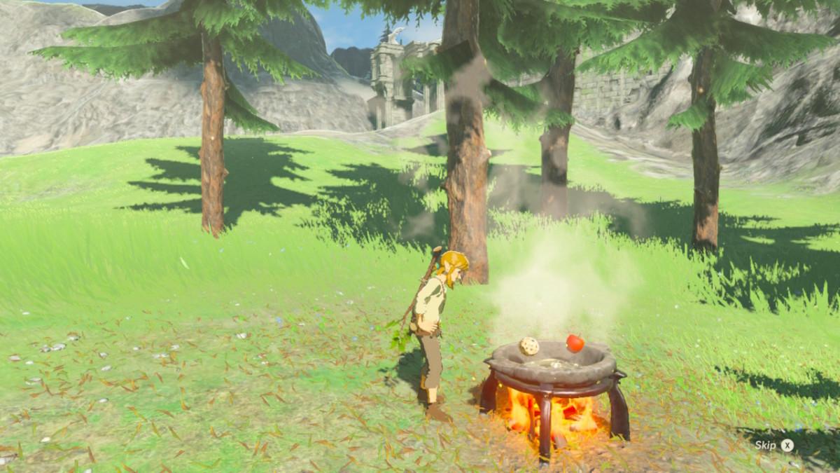 All Elixir Recipes in 'The Legend of Zelda: Breath of the Wild'