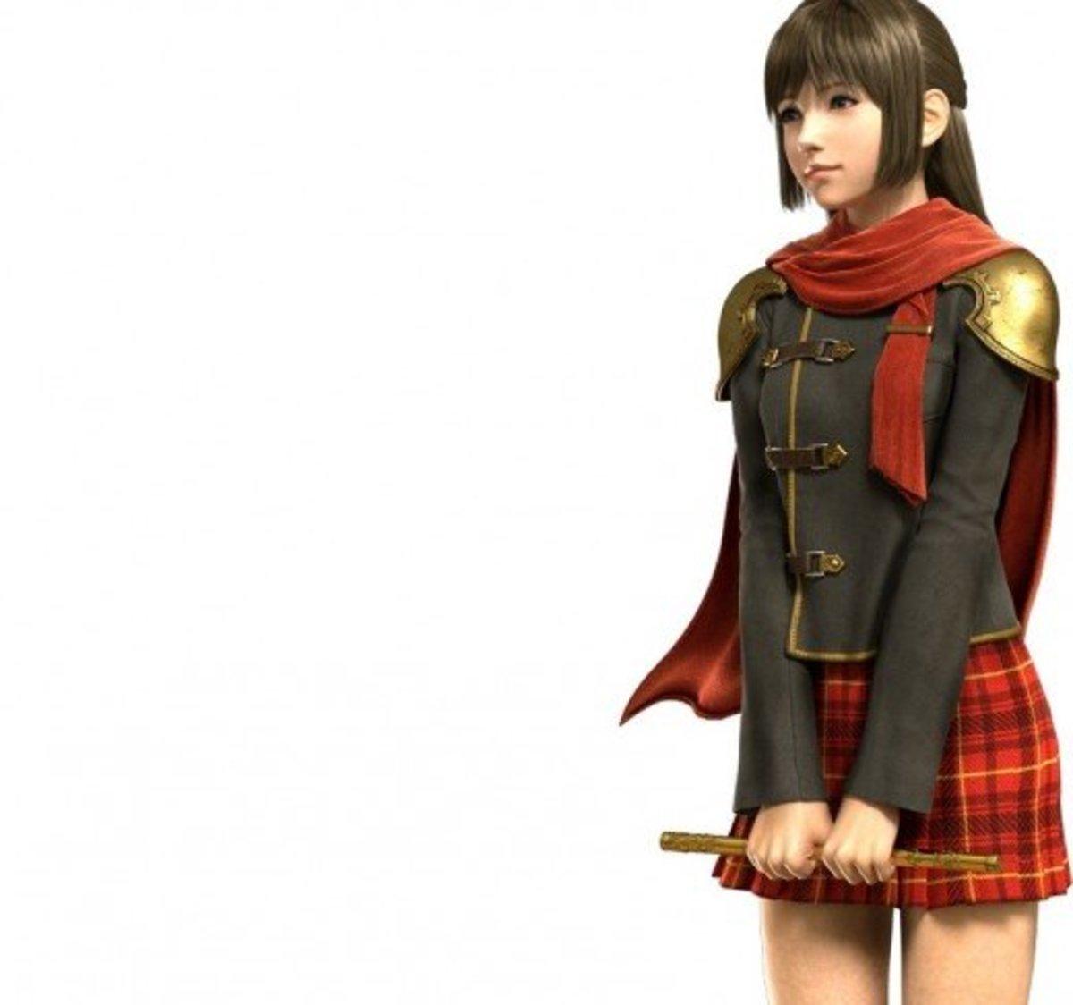 """Deuce in """"Final Fantasy Type-0"""""""
