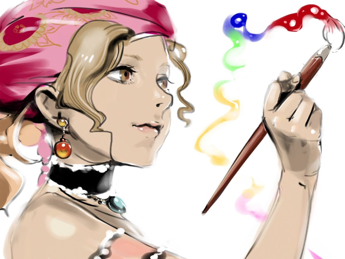 "Relm in ""Final Fantasy 6"""