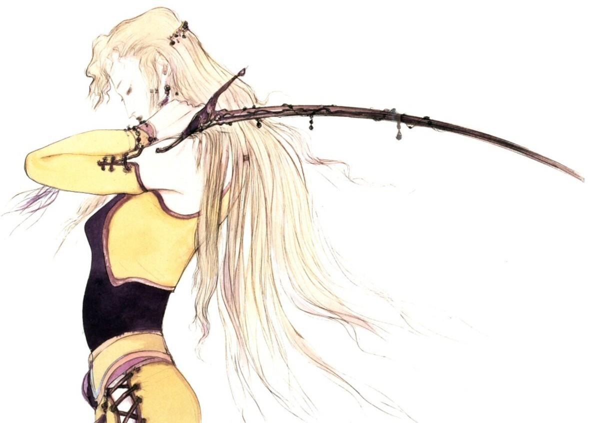 """Celes """"Final Fantasy 6"""" artwork"""