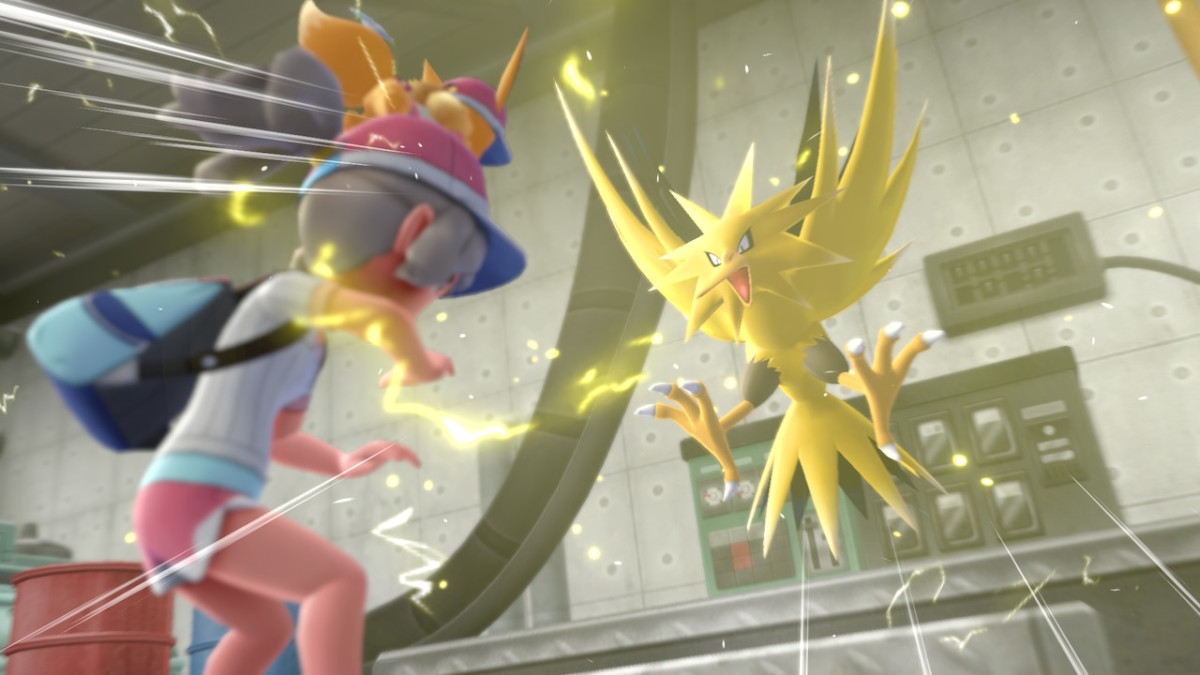 Zapdos in Pokemon Let's Go Eevee