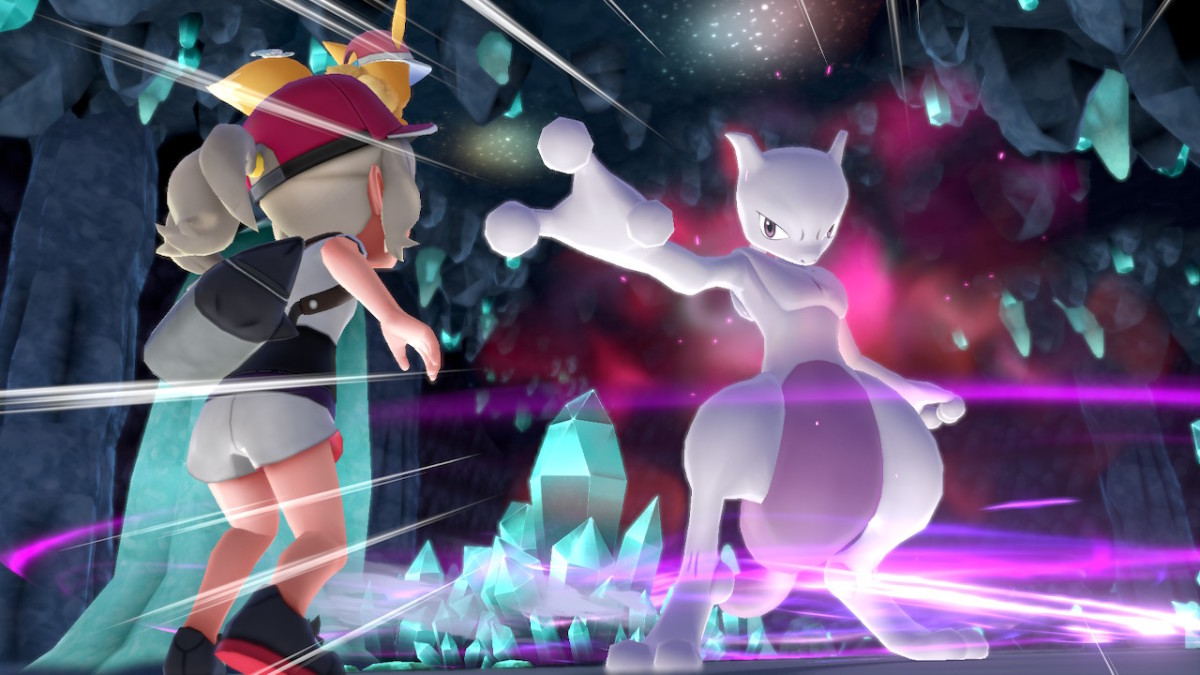 Mewtwo in Pokemon Let's Go