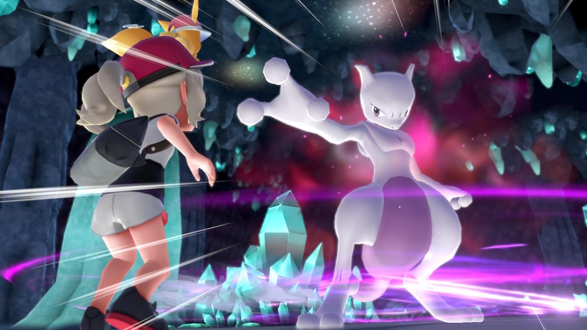 Mewtwo in Pokemon Let's Go