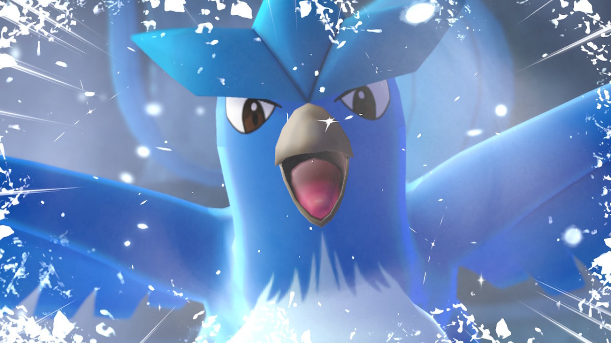 Articuno in Pokemon Let's Go