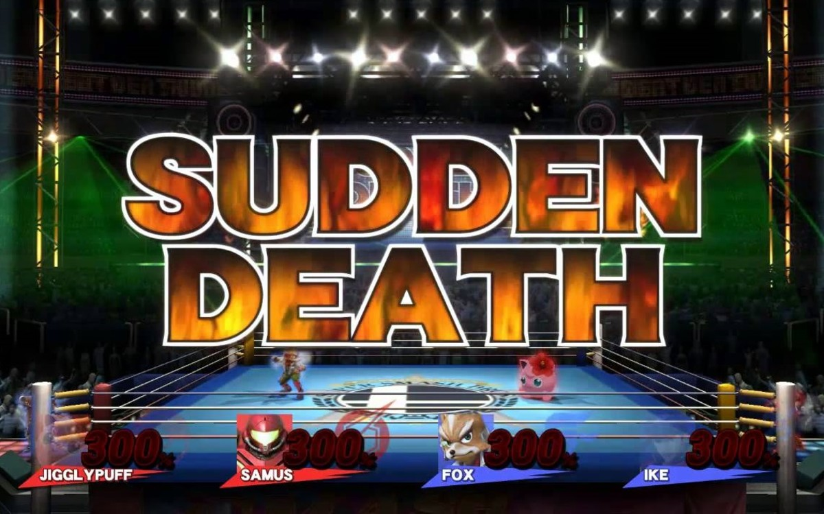 A sudden death match in SSB4