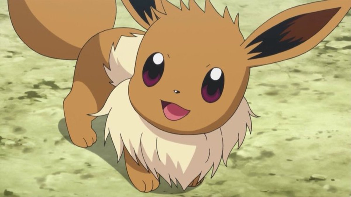 Eevee in the anime