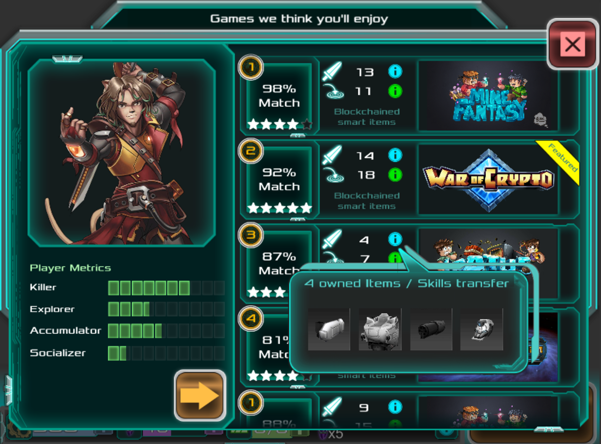 """""""CiM"""" shows your playstyle and Multiverse items for any game."""