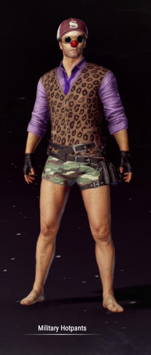 Military Hot Pants