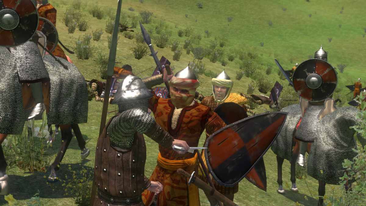 Mount and Blade: Warband gameplay.