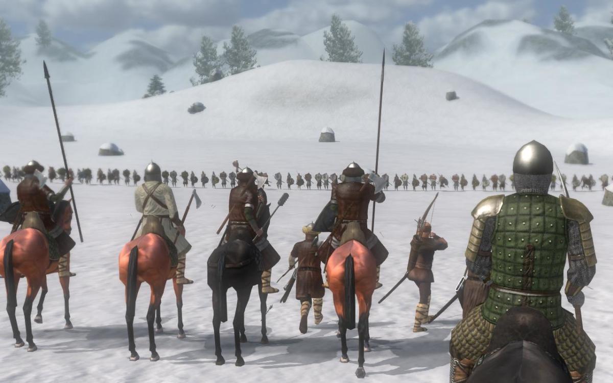 Your men preparing for battle.